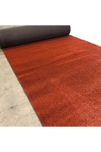Kunstgras sport gravelrood - 20,3 x 2 meter