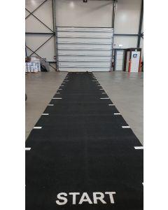 Sprinttrack - 16 x 2,5 meter