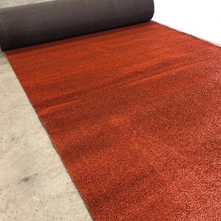 Kunstgras sport gravelrood - 10,5 x 4 meter
